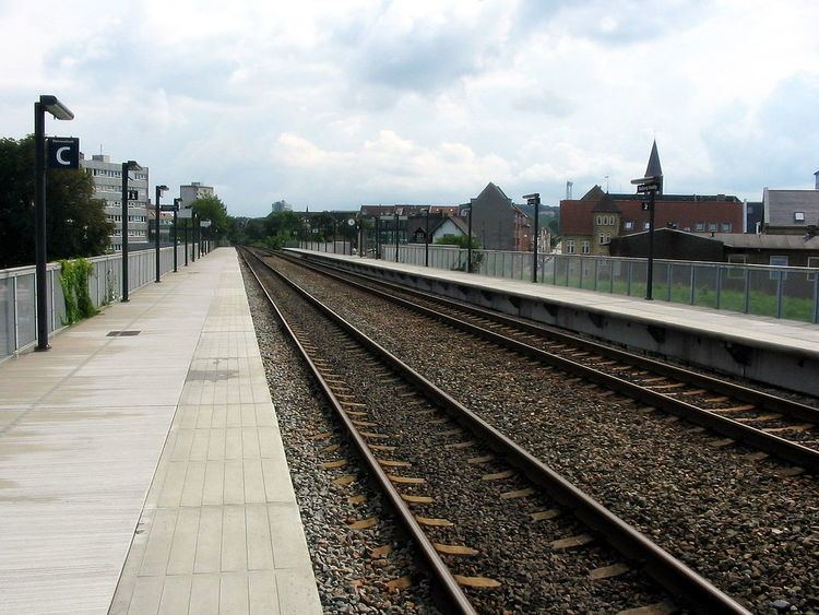 Aalborg Vestby station