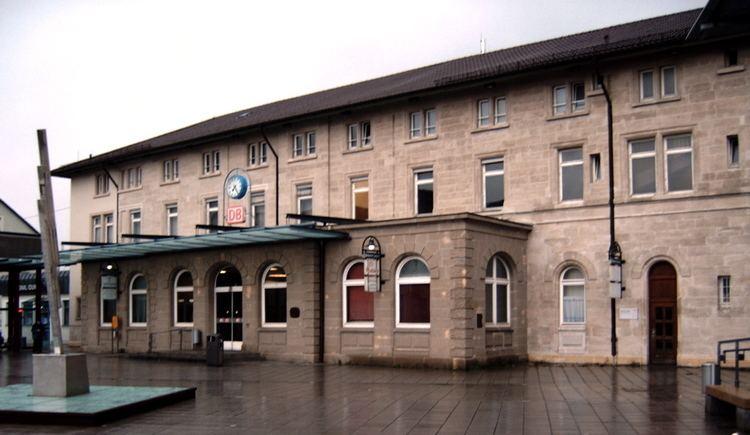 Aalen station