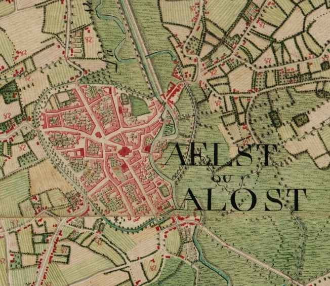 Aalst, Belgium in the past, History of Aalst, Belgium