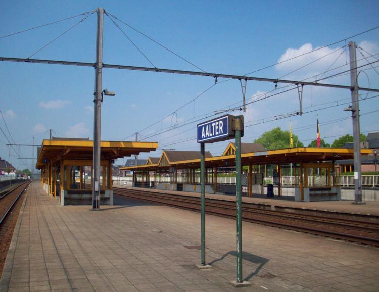 Aalter railway station
