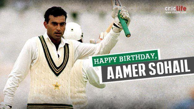 Aamer Sohail (cricketer, born 1973) Aamer Sohail Latest News Photos Biography Stats Batting averages