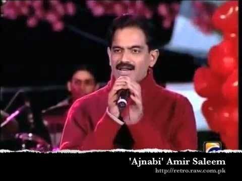 Aamir Saleem Ajnabi mujhe tum yaad ate ho Amir Saleem ASLAM KAMBOH