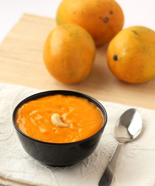 Aamras Aamras Recipe Mango Puree Recipe With Step by Step Photos