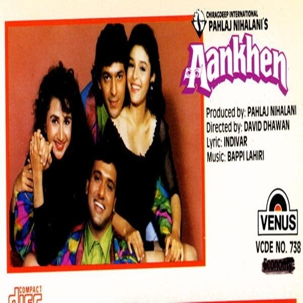 Aankhen (1993 film) Aankhen 1993 Movie Mp3 Songs Bollywood Music