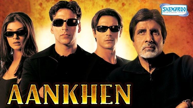 Aankhen (2002 film) Aankhen Hindi Full Movie In 15 Mins Amitabh Bachchan Akshay