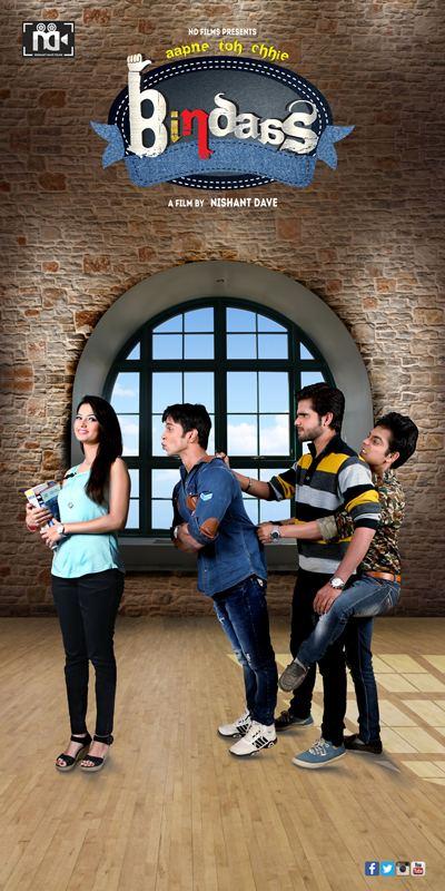 Aapne Toh Chhie Bindaas Aapne Toh Chhie Bindaas Urban Gujarati Film 2016