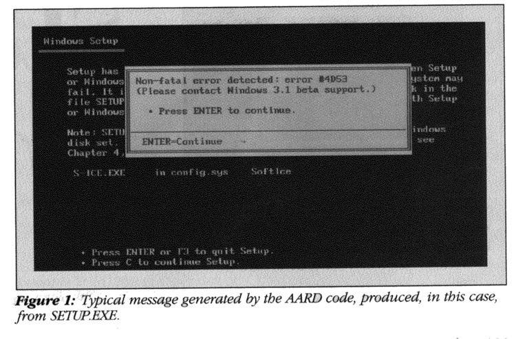 AARD code