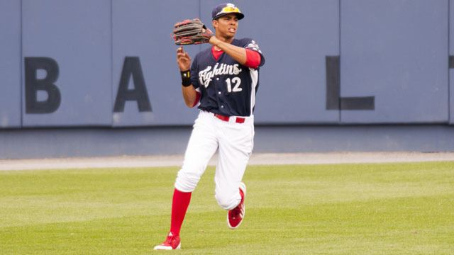 Aaron Altherr QampA 2014 Fightins Alum Aaron Altherr Sits Down with Mike