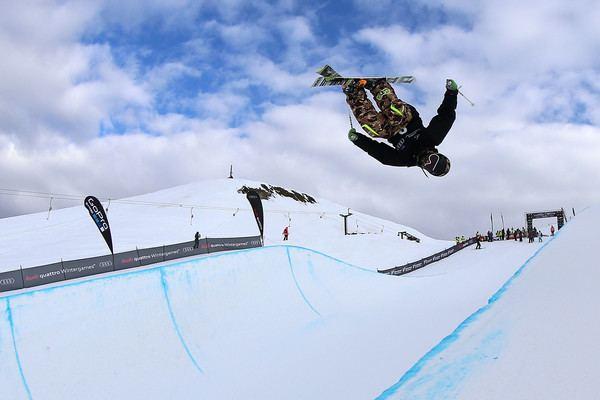 Aaron Blunck Aaron Blunck in Winter Games NZ FIS Freestyle Ski World Cup