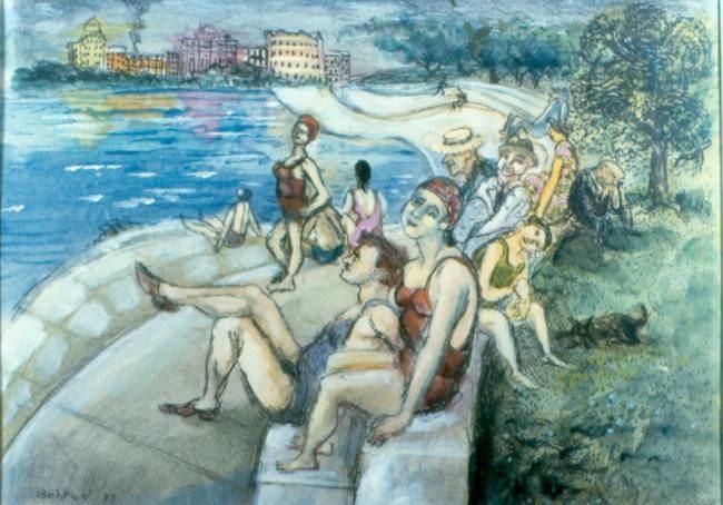 Aaron Bohrod Aaron Bohrod Wisconsin Visual Art Lifetime Achievement