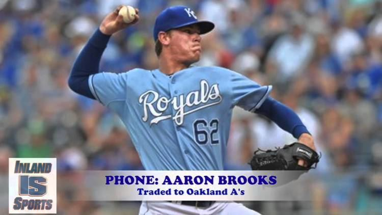 Aaron Brooks (baseball) BASEBALL OAKLAND AS PITCHER AARON BROOKS INLANDSPORTS INTERVIEW