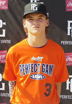 Aaron Brooks (baseball) Aaron Brooks Player Events Perfect Game USA