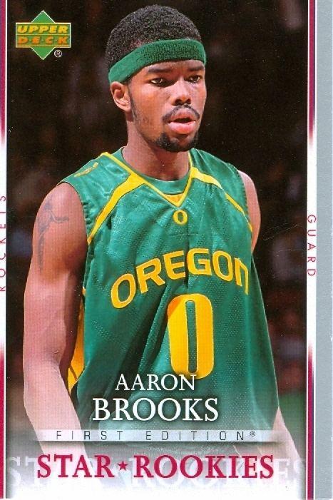 Aaron Brooks (basketball) Special Oregon39s Aaron Brooks39 Basketball Card