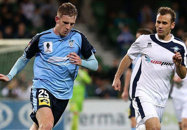 Aaron Calver Aaron Calver credits persistent Sydney FC Goalcom