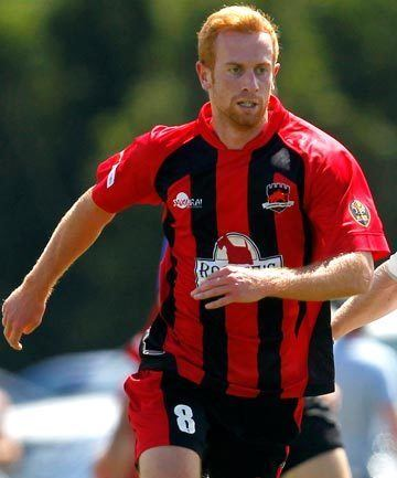 Aaron Clapham Aaron Clapham fired up for Canterbury United Stuffconz