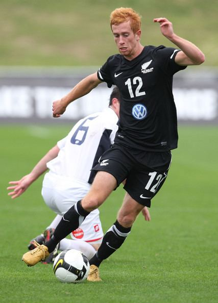 Aaron Clapham Aaron Clapham Pictures New Zealand A v NZFC All Stars