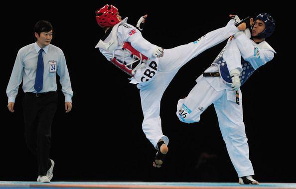 Aaron Cook (taekwondo) Aaron Cook Photos Taekwondo LOCOG Test Event for