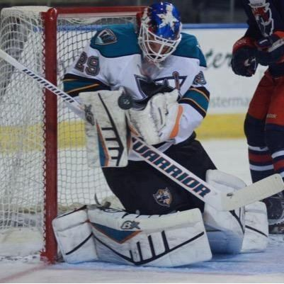Aaron Dell Tendy Gear on Twitter quotAaron Dell Worcester Sharks