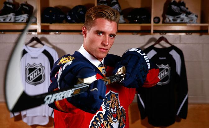 Aaron Ekblad Florida Panthers39 top pick Aaron Ekblad welcomes father39s