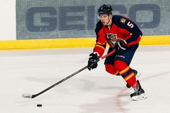 Aaron Ekblad Video First NHL Goal Ekblad provides margin of victory