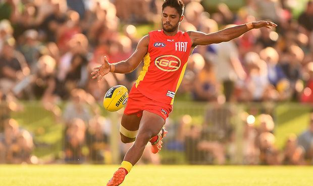 Aaron Hall (footballer) Hall becomes Suns man in the middle AFLcomau