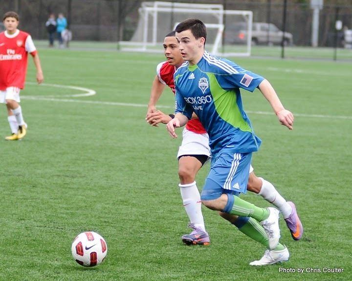 Aaron Kovar Sounders Academy Spotlight Aaron Kovar Irish American and state