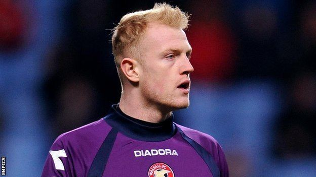Aaron McCarey BBC Sport Aaron McCarey recall forces Walsall to line up