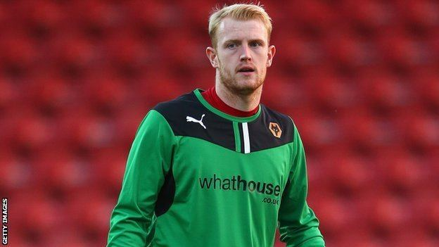 Aaron McCarey BBC Sport Aaron McCarey Wolves keeper given suspended