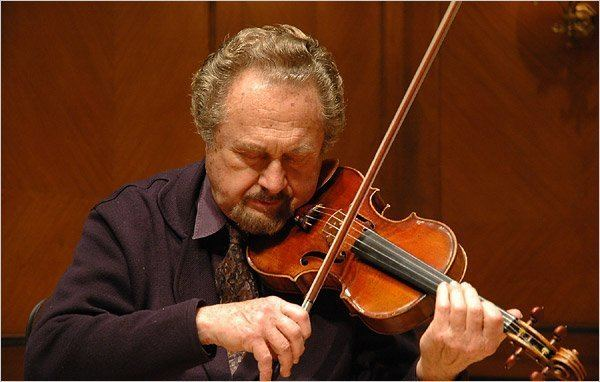 Aaron Rosand Violin Donation Curtis Institute Kochanski The New