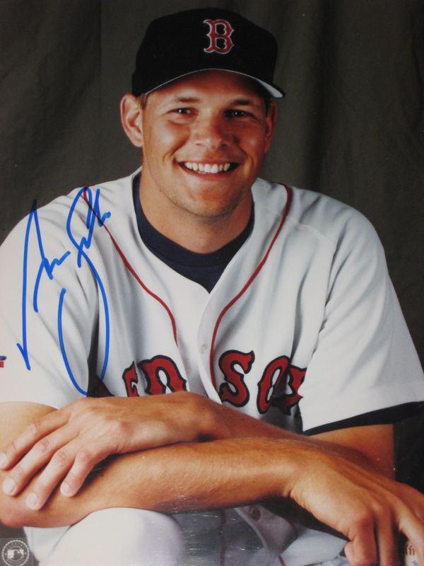 Aaron Sele Aaron SELE Signed Boston Red Sox Photo HD Sports
