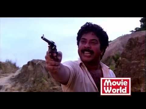Aavanazhi Malayalam Movie Aavanazhi Mammootty Action Scene HD YouTube