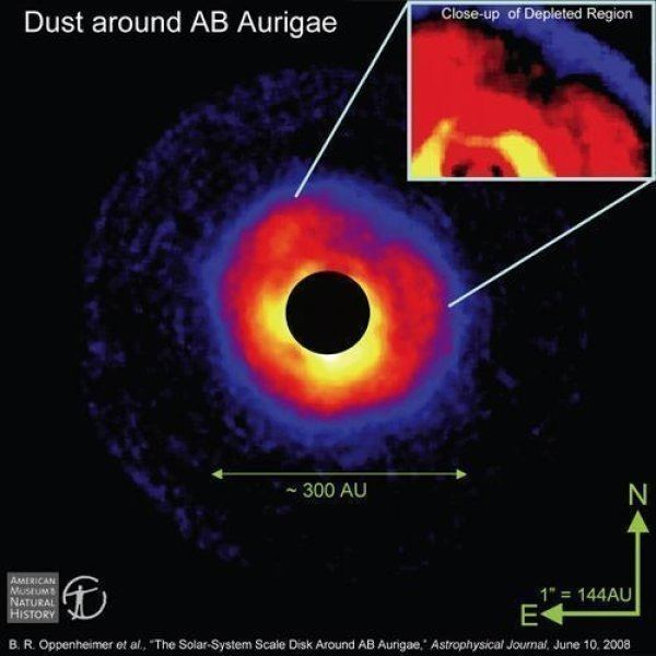 AB Aurigae Planet in Progress Evidence Of A Huge Planet Forming In Star System