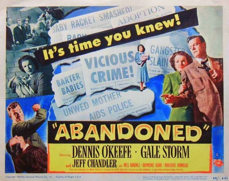 Abandoned (1949 film) Abandoned 1949 film Alchetron The Free Social Encyclopedia