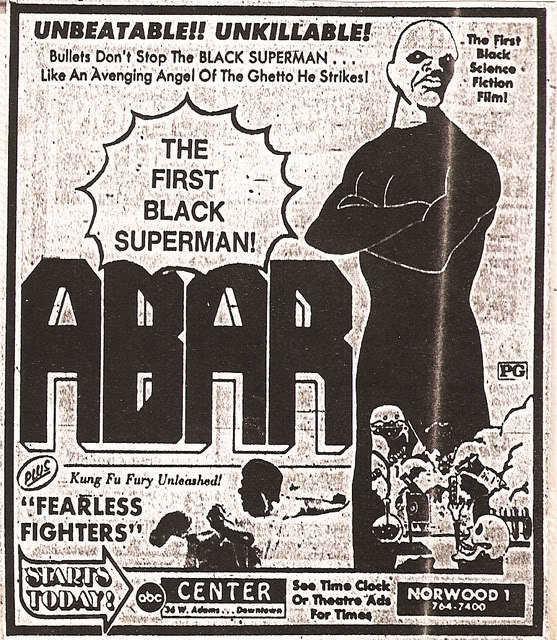 Abar, the First Black Superman Superhero Movie Guidebook ABAR THE FIRST BLACK SUPERMAN Seven