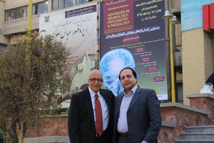 Abass Alavi With Prof Abass Alavi Father of Nuclear Medicine in the Faculty of