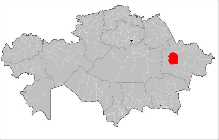 Abay District, East Kazakhstan