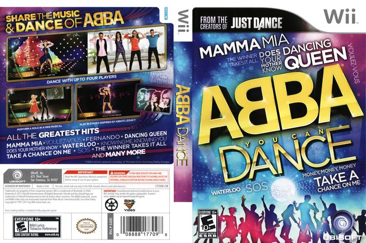 ABBA: You Can Dance Wii ABBA You Can Dance MEGA WIA