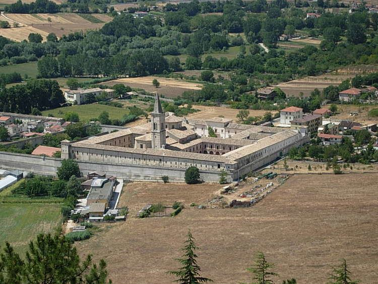 Abbey of the Holy Spirit at Monte Morrone, Sulmona