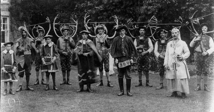 Abbots Bromley Horn Dance Heretic Rebel a Thing to Flout The Oldest Ritual in an English