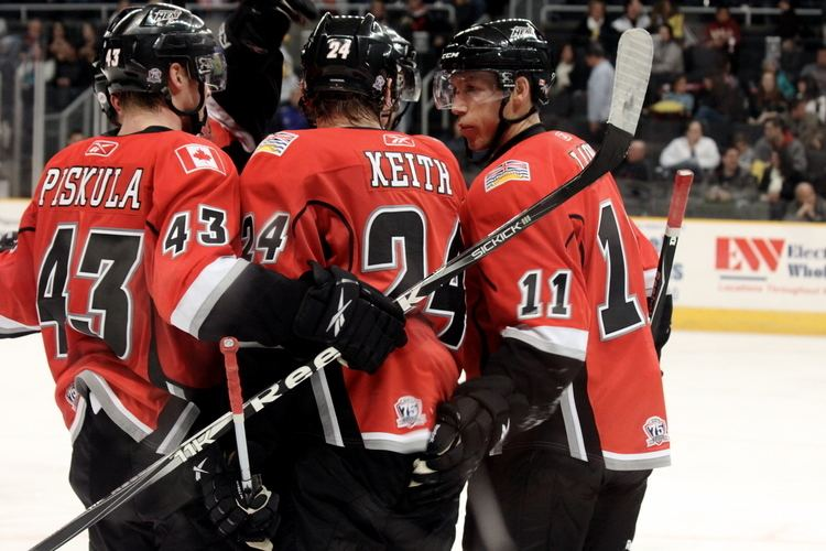 Abbotsford Heat Joe Piskula43 amp Quintin Laing11 Abbotsford Heat Circling The Wagon