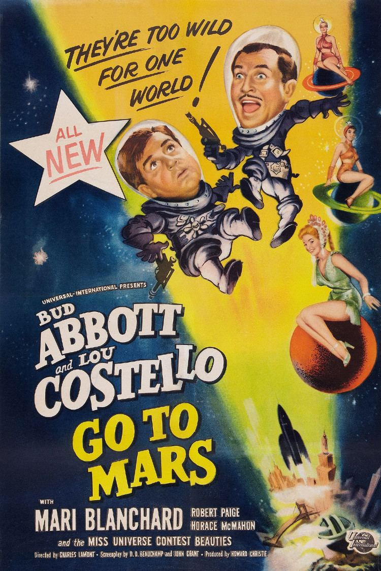 Abbott and Costello Go to Mars wwwgstaticcomtvthumbmovieposters443p443pv