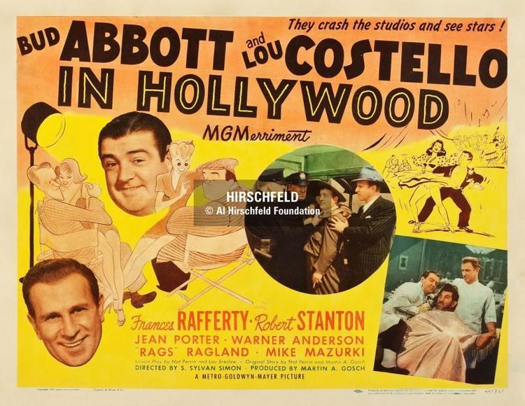 Abbott and Costello in Hollywood ABBOTT AND COSTELLO IN HOLLYWOOD wwwalhirschfeldfoundationorg