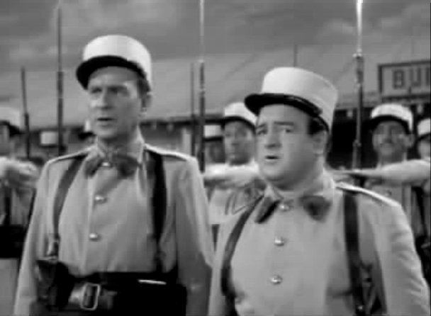 Abbott and Costello in the Foreign Legion IMCDborg Abbott and Costello in the Foreign Legion 1950 cars