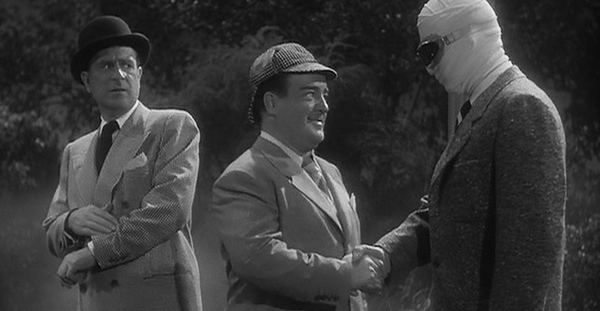 Abbott and Costello Meet Frankenstein movie scenes  Abbott and Costello Meet the Invisible Man 1951 My favorite of the three Abbott and Costello vs Universal monsters films There are jokes in this movie
