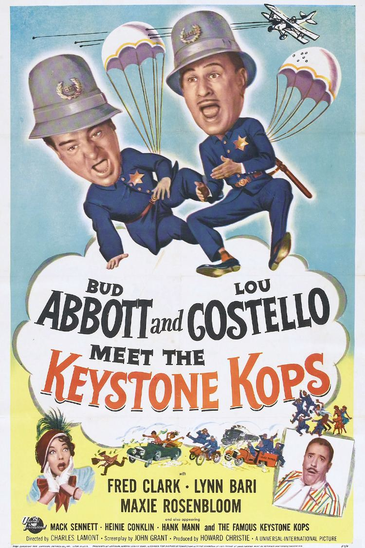 Abbott and Costello Meet the Keystone Kops wwwgstaticcomtvthumbmovieposters2206p2206p