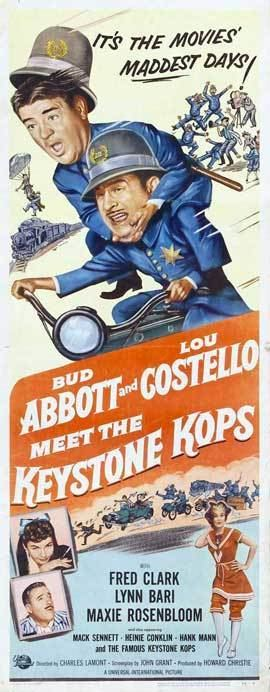 Abbott and Costello Meet the Keystone Kops Abbott and Costello Meet the Keystone Kops Movie Posters From Movie