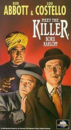 Abbott and Costello Meet the Killer, Boris Karloff Amazoncom Abbott Costello Meet the Killer VHS Bud Abbott Lou