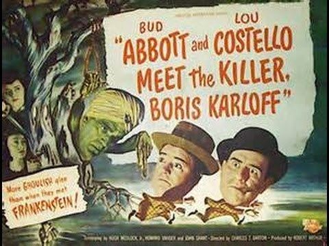 Abbott and Costello Meet the Killer, Boris Karloff Abbott Costello Meet the Killer Boris Karloff 1949 Theatrical
