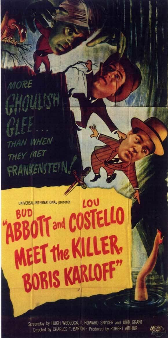 Abbott and Costello Meet the Killer, Boris Karloff Abbott and Costello Meet the Killer Boris Karloff Movie Posters