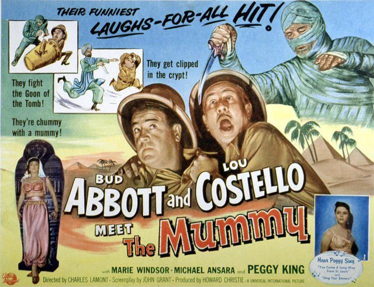 Abbott and Costello Meet the Mummy Abbott And Costello Meet The Mummy Lou Photograph by Everett